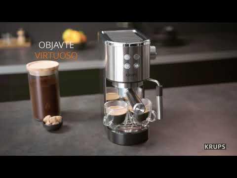 Krups Virtuoso XP442C11 pákové espresso - NAY Elektrodom