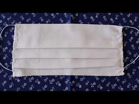 Ako ušiť rúško z bavlnenej látky. VIDEO NÁVOD