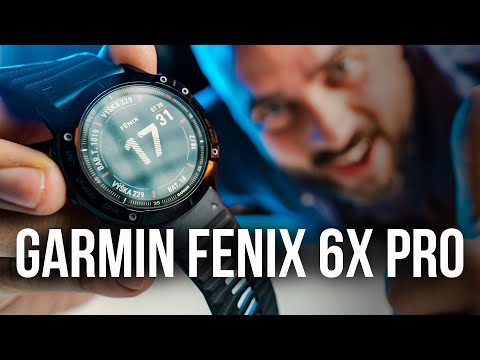 Nejlepší chytré hodinky 😱! Garmin Fēnix 6X Pro - [recenze]
