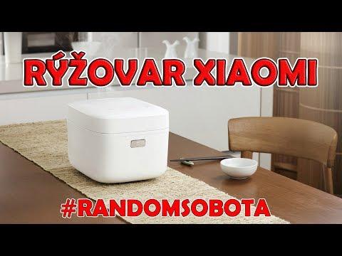 Chytrý RÝŽOVAR XIAOMI - Jak uvařit rýži přes WiFi?!