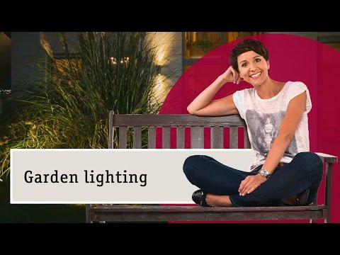 Garden lighting - what are the best choices for outdoor lamps?