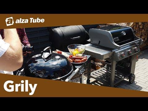 Jak vybrat gril   Alza Tube   Hobby - grilování: rady a tipy
