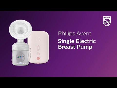 Philips Avent Single Electric Breast Pump SCF395/11 Product Video