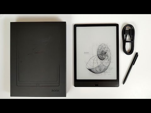 Onyx Boox Note 3 Unboxing