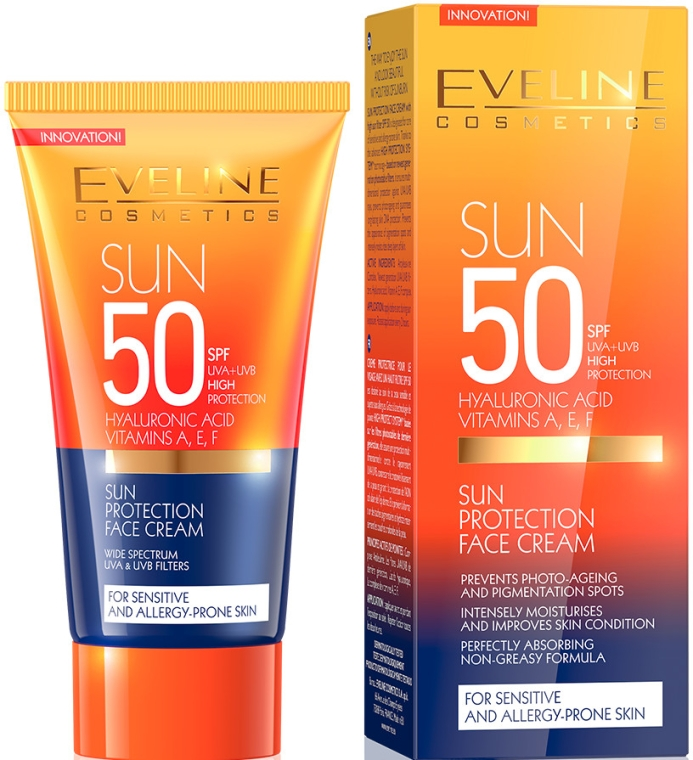 vyberomat sk eveline cosmetics sun protection face cream spf