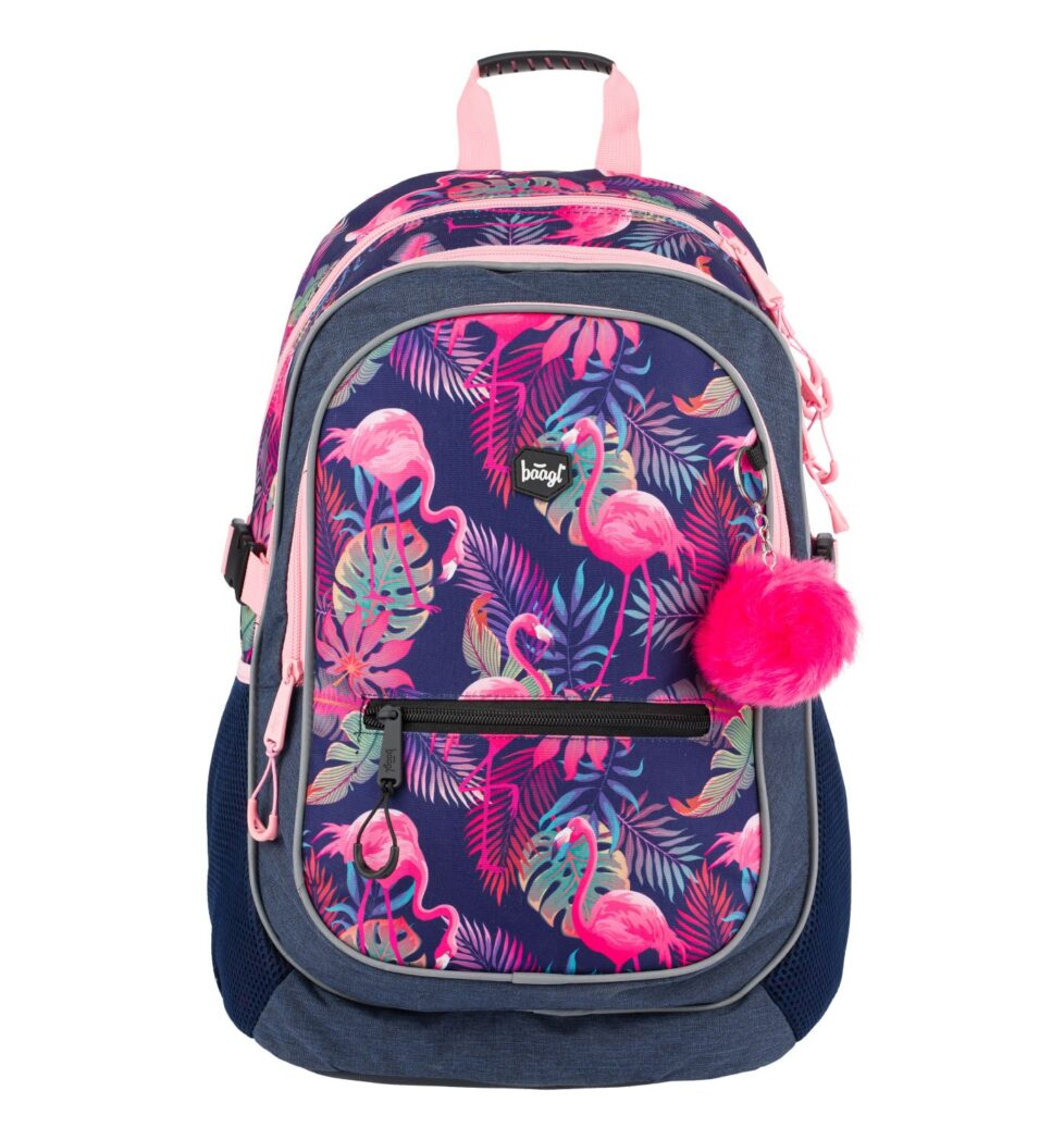 vyberomat sk skolsky batoh flamingo