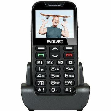 vyberomat sk evolveo easyphone xd cierno strieborny